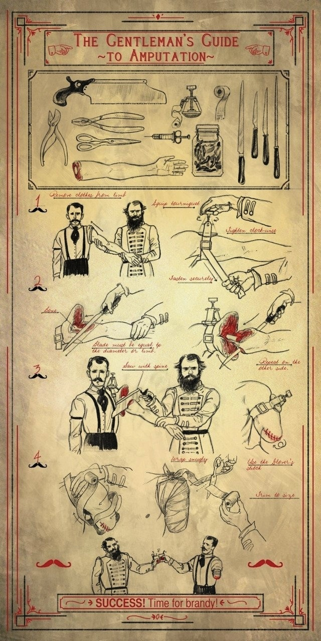 THE GENTLEMAN'S GUIDE TO AMPUTATION